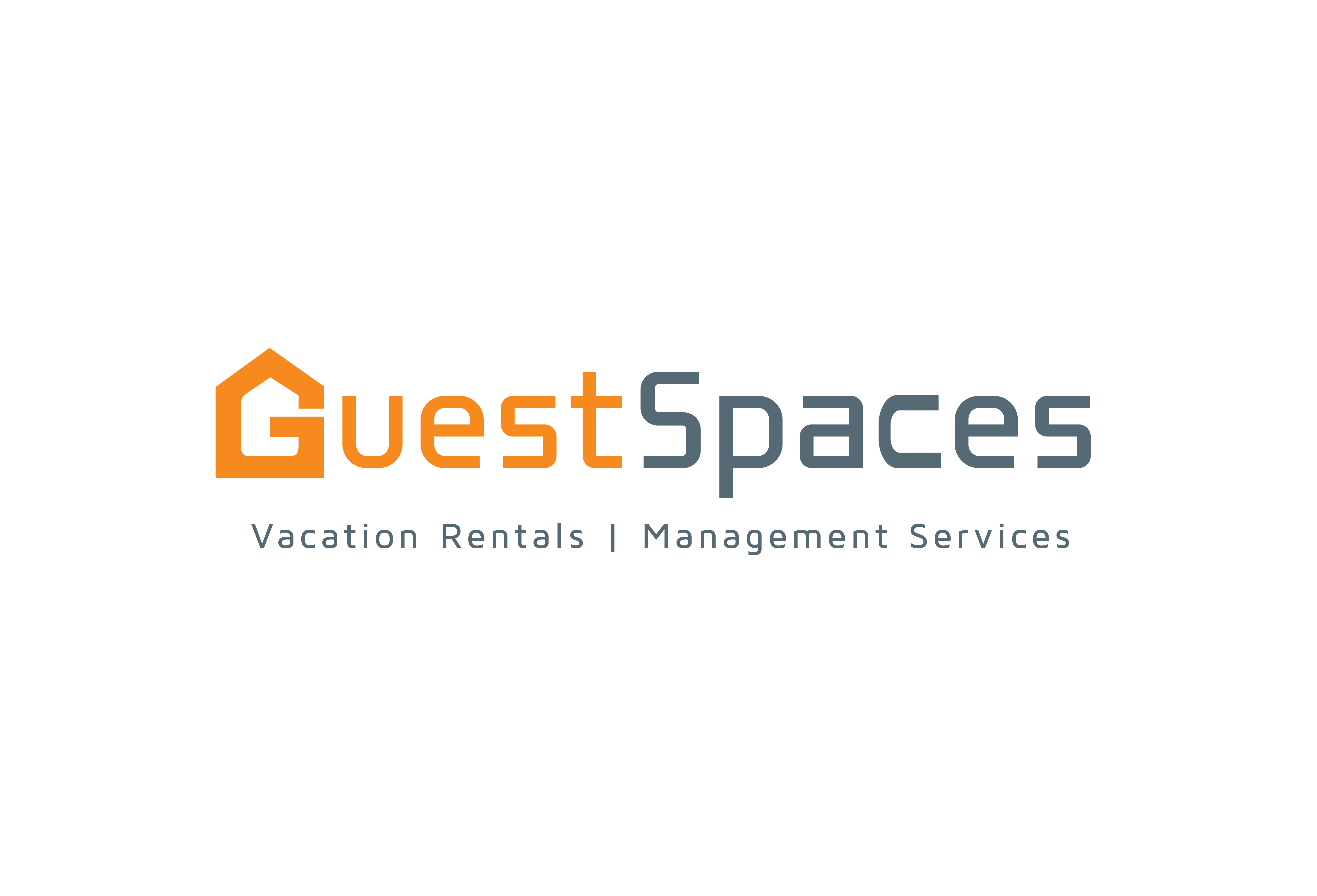 GuestSpaces Vacation Rentals and Property Management Services Logo