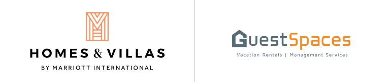 Homes and Villas by Marriott International and GuestSpaces logo